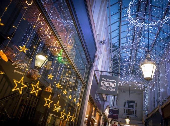 arcades at christmas